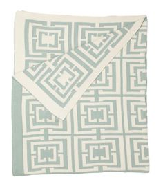 Gorgeous pale blue throw - CocoCozy.. not cheap.. but luxury never is... more on the blog.