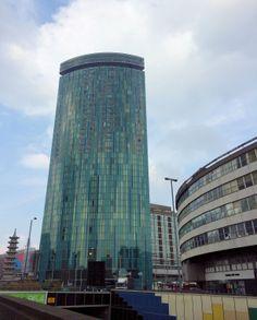 The Radisson building...cute shape.