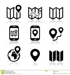 map-travel-icons-set-navigation-white-36036503.jpg (1300×1389)