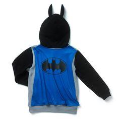 Batman Hooded Sweatshirt with Cape