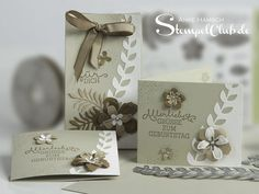 Gratis Ware extra - letzte Sammelbestellung in der SAB ~ Stampin' Up! Scrapbook Room Organization, Small Cards, Pretty Cards, Card Tags, Cool Cards, Flower Cards, Flower Making, Greeting Cards Handmade, Stampin Up Cards