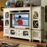 Paula Deen Home Savannah Lighted Entertainment Center & Reviews | Wayfair