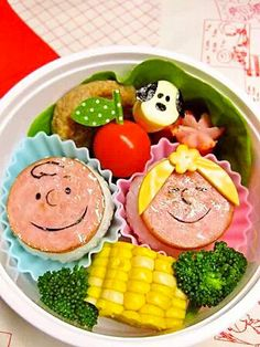 Charlie & Sally Spam onigiri bento
