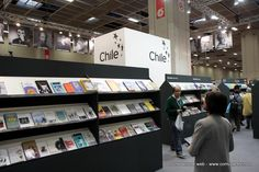 Lo stand del Cile, Paese Ospite donore dell'edizione 2013 del Salone Internazionale del Libro. #Torino #SalTo13