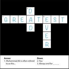 "Greatest Dad Ever Crossword, Fathers Day Card 15x15cm (6x6"") Blank Inside on Etsy, £3.50"