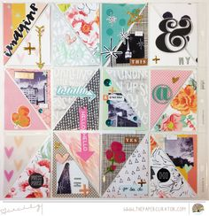 SUNDAY SKETCH SERIES NO. 21 WITH 'IMAGINE' SCRAPBOOK SKETCH | THE PAPER CURATOR
