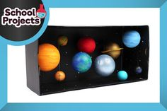 Learn to create your own model solar system with a handful of craft components and this handy how to by Suzie Attaway.