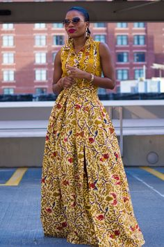 don't care much 4 African styles but this I would do...