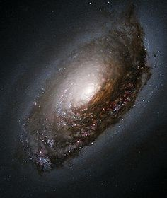 "The ""Black-Eyed"" Galaxy  Photo by NASA"
