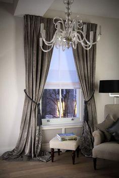 Velvet Curtains on Lath & Fascias