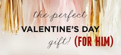 8 perfect #ValentinesDay gifts for him from @ritani https://www.ritani.com/blog/in-the-press/rock-valentines-day-8-great-gift-ideas/
