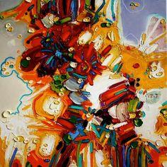 Charles Forsberg Modern Art, Illustration, Botanical Illustration, Painting, Creative Inspiration, Abstract Art, Painting Media, Abstract, Art Inspiration