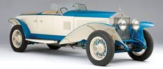 Experimental 1926 Rolls-Royce 10EX Heading to Auction
