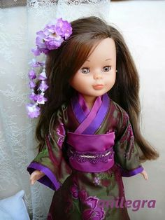 Cosiendo para Nancy: Kimono brocado