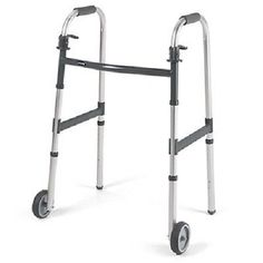 Walkers and Canes: New! Invacare Dual-Release Junior Paddle Walker With 5 Fixed Wheel -1 Count -> BUY IT NOW ONLY: $44.66 on eBay!