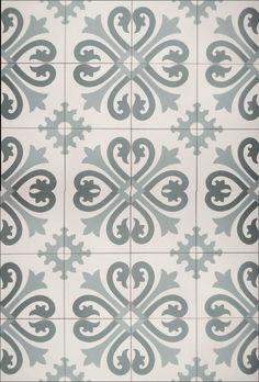 Norwegian - French Gray tile  Fan des carreaux de ciment