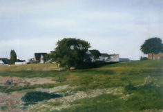 Rhinescape, Gerhard Richter (1984, Oil on Canvas, 100cm x 140cm)