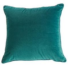 "Throw pillow for sofa......................................................................................         Pier 1 Shaded Spruce Pillow  Orig. $19.95  Size: 20""W x 20""H"