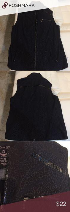 Chico's Zynergy Vest Like new Chico's Zynergy vest.  Size 1 is Medium Chico's Tops