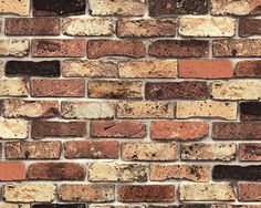 Vintage Brick Vinyl Self Adhesive PeelStick by verryberrysticker