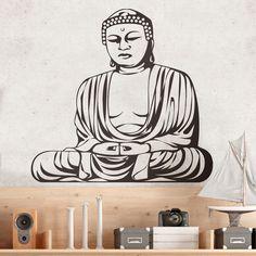Vinilos Decorativos: Budha Sabio 0