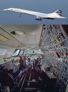 The Coolest Aircraft Cockpits - Aviation Humor Sud Aviation, Aviation Humor, Civil Aviation, Concorde, Supersonic Aircraft, Airplane Flying, Passenger Aircraft, Commercial Aircraft, Aircraft Design