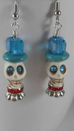 Check out this item in my Etsy shop https://www.etsy.com/listing/552399057/skull-earrings