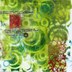 Words #1 Collage and Mixed Media Annie Kaill's  Juneau, Ak