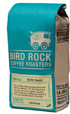 Bird Rock coffee roasters colour vintage like