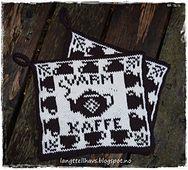 Ravelry: Varm kaffe, gryteklut pattern by Jorunn Jakobsen Pedersen Crochet Potholders, Knit Crochet, Homer Decor, Fair Isle Chart, Double Knitting, Needles Sizes, Pot Holders, Needlework, Mittens