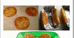 Recipe from Kathryn Provolone Taco Shells Ingredients: Round Provolone Cheese slices ...(I bought mine at Costco- Bel...