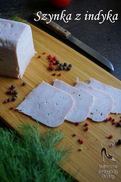 Szynka z indyka z szynkowara | Kulinarne przygody Gatity Bamboo Cutting Board, Food And Drink, Lunch, Diet, Projects, Eat Lunch, Lunches