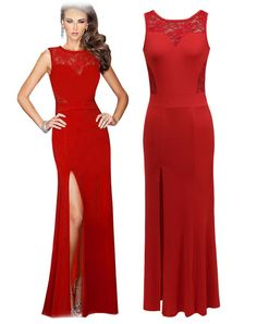 6a6e3681213 Formal Long Cut Party Bodycon Dress Red Red Backless Dress