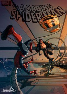 Spider-Man vs Doctor Octopus Auction your comics on www.comicbazaar.co.uk