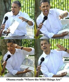 Funny, Cute and Cool Photos of President Barack Obama