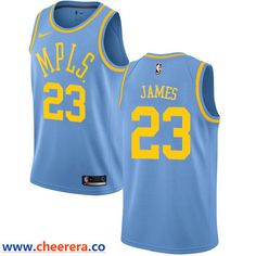 72c43c57dbfd Men s Nike Los Angeles Lakers  23 LeBron James Royal Blue NBA Swingman  Hardwood Classics Jersey