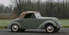 CGE – Tudor (1941-1944)   Electric Car   Jean-Albert Grégoire