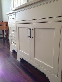 Restoration Hardware Lugarno Pulls, Foot Detail. Kitchen Cabinet ...