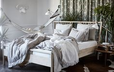 Home Decorating Style 2016 for 76 Beautiful Collection Of Ikea Kids Bed Frames, you can see 76 Beautiful Collection Of Ikea Kids Bed Frames and more pictures for Home Interior Designing 2016 202812 at Bedroom Ideas. Ikea Bedroom, Cozy Bedroom, Home Decor Bedroom, Bedroom Ideas, Design Bedroom, Master Bedroom, Ikea Pinterest, Home Design, Ikea Inspiration