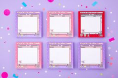 size : 100 x 100 mm . made in Korea Enjoy shopping! Scrapbook Paper Organization, Diy Scrapbook, Instax Mini Album, Rose Step By Step, Korean Stationery, Kawaii Stationery, Kpop Diy, Diy Resin Crafts, Stationary Design