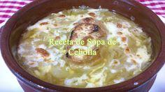 Como hacer la Sopa de Cebolla, receta fácil/simple
