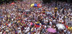 Hoy Venezuela se vistió de blanco, un río de gente llena de Esperanza y Fe! #VenezuelaUnidaPorElCambio