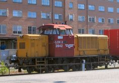 NSB Di2 2842 - Di 2 – Wikipedia Rail Car, Rolling Stock, Mj, Norway, Diesel, Scandinavian, Train, Cars, Trains