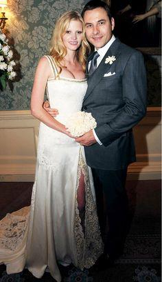 Laura Stone Year: 2010 Dress: Ricardo Tisci for Givenchy Spouse: David Walliams #jayfederjewelers