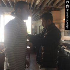 #Repost @brunolimadesign with @repostapp. ・・・ Set Life | Stylist in Action  Styling actor #SamHeughan up during the @hauteliving Summer story photoshoot. @celestineagency #celebrity #fashionstylist #fashion #styling #outlander #starz #bts #hauteliving #summer #setlife #mensfashion