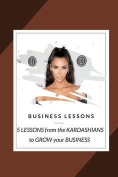 5 BUSINESS LESSONS from the KARDASHIANS to GROW your BRAND in 2018. In this video, there are explained the most important business lessons you can pick for them to grow your brand. Time Management Tips, Make More Money, Growing Your Business, Boss Lady, Business Tips, Kardashian, How Are You Feeling, Feelings, Woman
