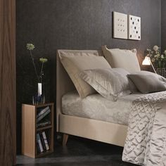 Bravo Vivian soft headboard with reclining cushions  Feel like a Queen every time you go to bed!
