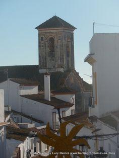 Manilva Church, Costa del Sol, Spain in winter