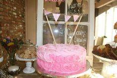 Stephanie baby shower. Dessert table