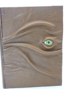 Hocus Pocus Brown Leather Storage Book Stash Box Organizer Halloween Tarot Harry Potter Desk Accessory LARP Pagan